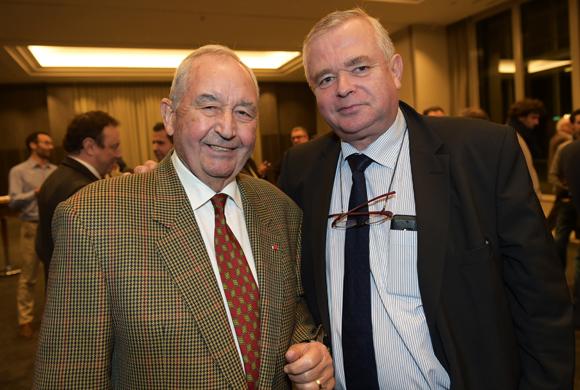 10. Jean-Paul Mauduy, président de la CRCI et Gérard Cormorèche, président du Crédit Mutuel Sud-Est