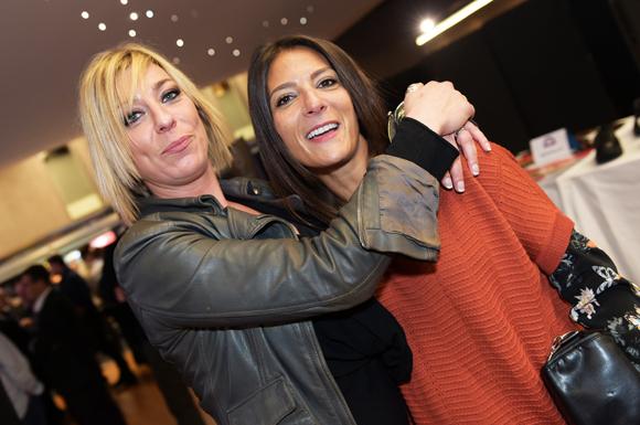 11. Pascale Rossignol (Tec'Hotel) et Aurélie Sitruk (Coz Magazine)