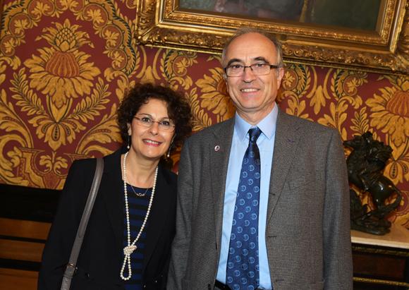 12. Hubert Boulet, délégué général du Souvenir Français pour le Rhône et son épouse Betty
