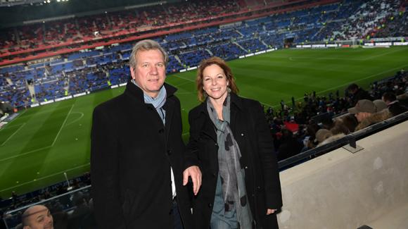14. Marc Bechet (Rhône-Alpes Tourisme) et Anne-Sophie Condemine, adjointe à l'Emploi