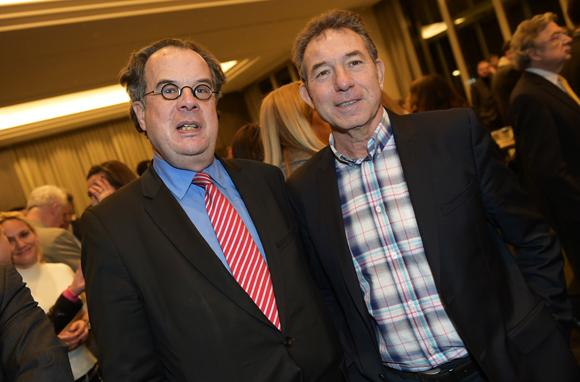 14. Christian Laroche (Science Po Lyon) et Jean-Claude Pietrocola (Média Sport Promotion)