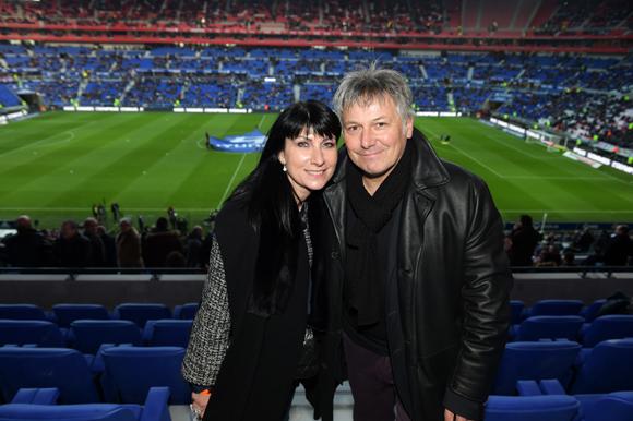 15. Olivier Delorme, président du Groupe Delorme et son épouse Catherine