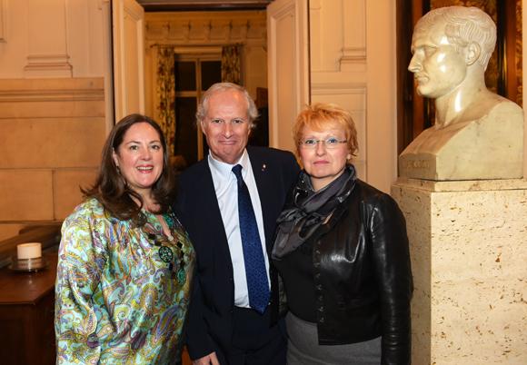 15. Florence Chavancy, Hervé Brun, adjoint au maire du 6ème et son épouse Jeanne