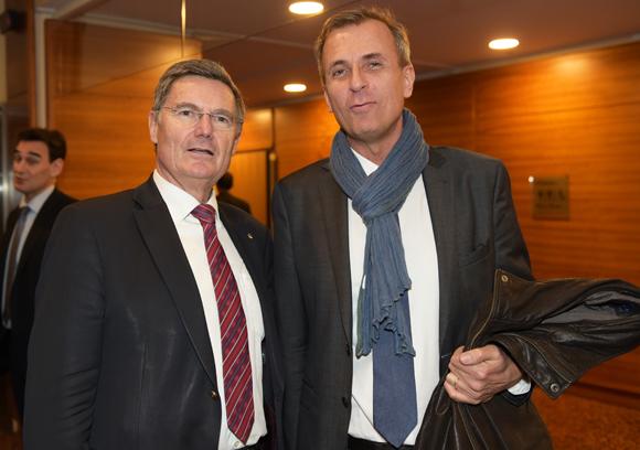 16. Christian Gelpi, président de France U.S.A et Cyril de Gasquet (Korporate)