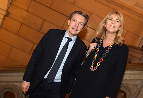 17. Pascal Blache, maire du 6ème et son épouse Christel