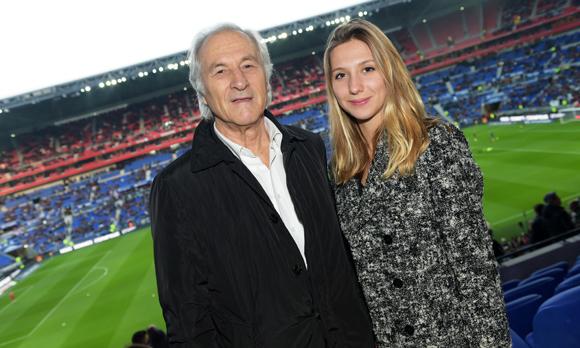 18. Jean-Claude Voituret et sa petite-fille Camille