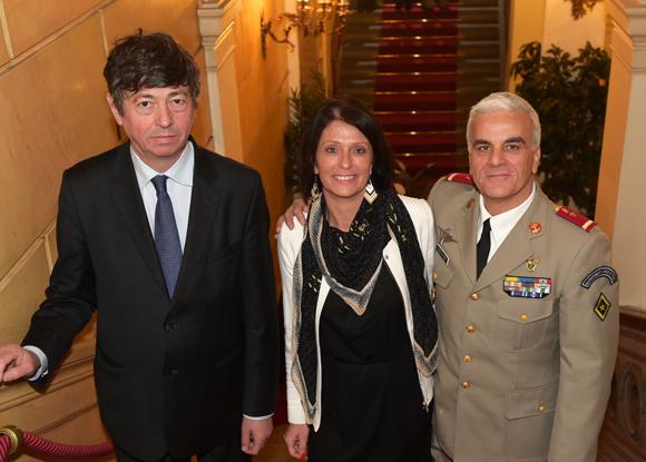 18. Philippe Rivé (ONAC), Hélène Borsato et le major Antoine