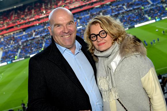 19. Bruno Bonnell (Robopolis) et Christelle Gesler
