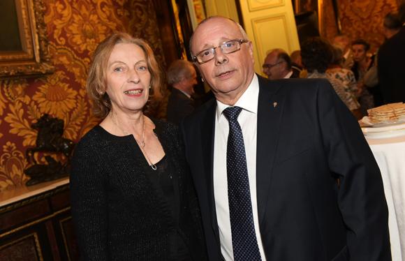 19. Léandre Borbon (Office municipal des sports) et son épouse Christiane