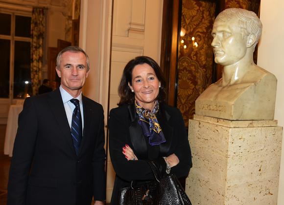 2. Hervé Mariaux (CCI de Lyon) et son épouse Béatrice