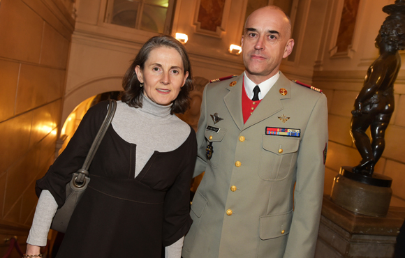 21. Le colonel Jean-Frédéric Bettinger et son épouse Christine