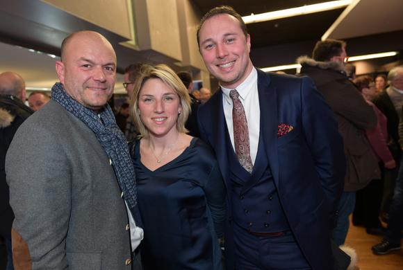 2. Sébastien Leguillou (Moreteau), Julie Demont (Chapoutier) et Philippe Billon (Moreteau)