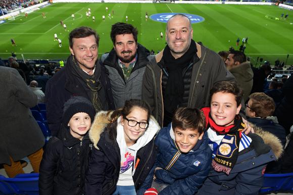 22. Frédéric Berthod (33 Cité), Sébastien Bouillet, Philippe Bernachon, Thomas, Giulia, Andréa et Antoine