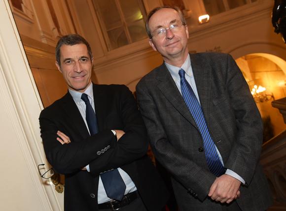 22. Marc Cimamonti, procureur de la République et Thierry Polle, président du tribunal de grande instance de Lyon