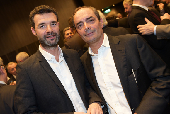 23. Franck Morize (CGPME) et Gilles Courteix (BTP Rhône)