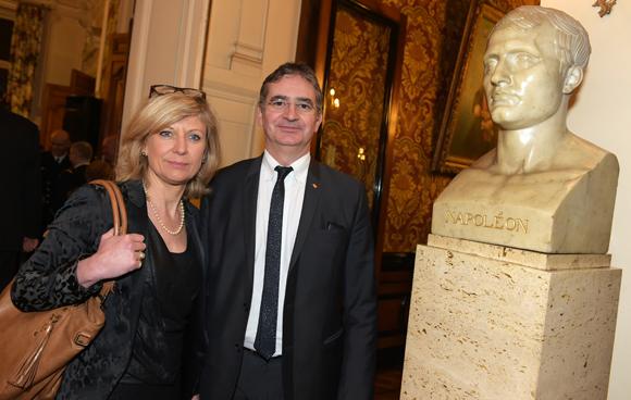24. Jean-Michel Woulkoff et son épouse Christine