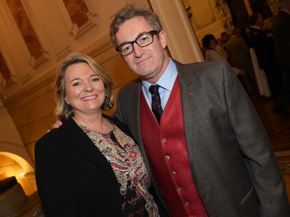 25. Florence Darbon, adjointe au maire du 6ème,  et son époux Jean-Christophe