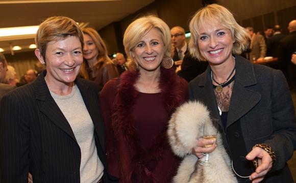 28. Sylvie Caudrillier (Air France), Dany Morsilli (La Sphère des Possibles) et Michèle Guionnet (Carrel)