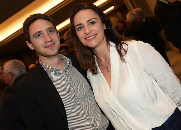 29. Arnaud Guignon-Vidal (BFM TV & RMC) et Valérie Fallion (Effet Papillon)