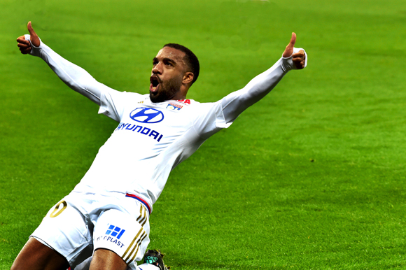 31. 1er but au Stade des Lumières, signé Alexandre Lacazette