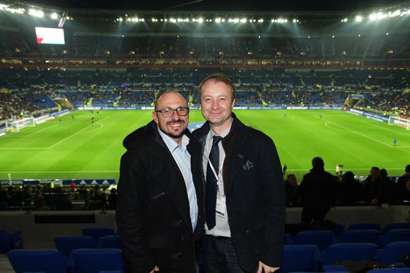 32. Stéphane Rossignol (Ministère des Sports) et Marco Polisson (Lyon People)