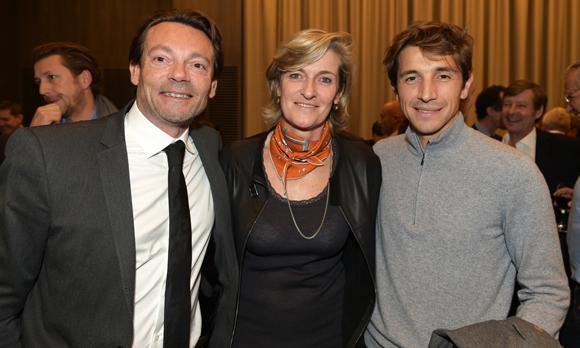 32. Nicolas Farrer (EKNO),  Blandine Peillon (Jours de Printemps) et Benoît Dupré (I Way)