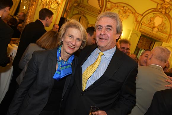 33. Dominique Nachury, député du Rhône et Maître Richard Brumm, adjoint aux Finances