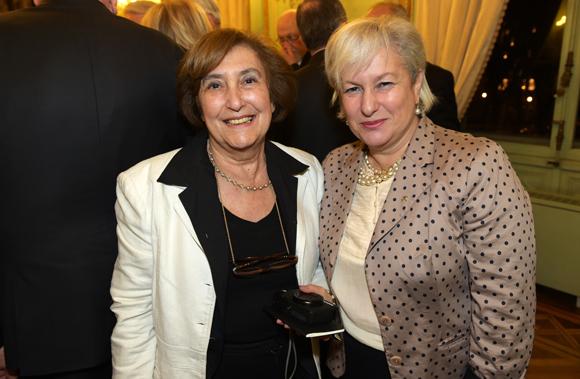 34. Gisèle Lombard (Le Progrès) et Marie Guyon