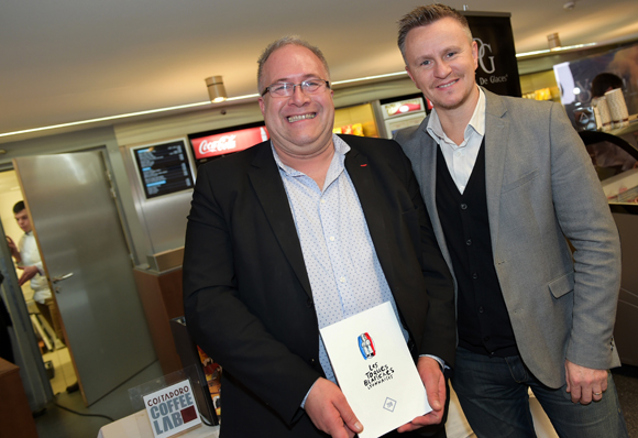 34. Laurent Duc (UMIH) et Franck Chapon, directeur des UGC Lyon