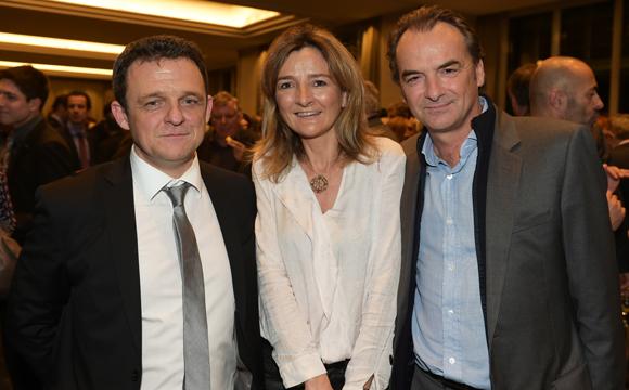 35. Laurent Fiard, président du Medef Lyon-Rhône, Claire Saddy, présidente Rhône-Alpes Pionnières et  Norbert Fontanel (Fontanel)