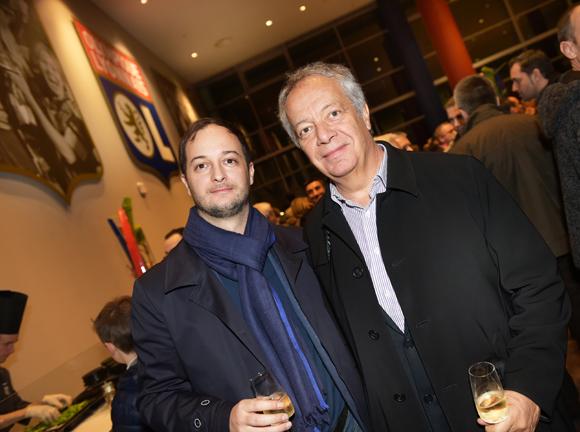 40. Philippe Grillot (Ifari) et son fils Aurélien (Fill Up Média)