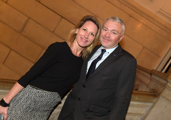 40. Florence Vial (Aviva) et Jean-Louis Joly, DG du Medef Lyon-Rhône