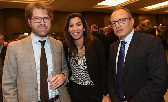 40. Thibaut Aufort (Ailleurs Voyages), Rima Saliba (Proxim Propreté) et Ali Hannas (IDRAC)