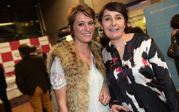 41. Candice Augugliaro (Le Progrès) et Christelle Cimetière (EMC)