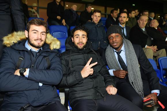 41. Lucas Tousart, Nabil Fekir et Maxwel Cornet