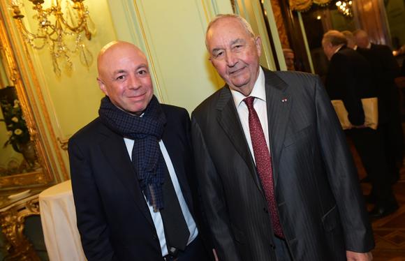 4. Yvan Pattet (EM2C) et Jean-Paul Mauduy, président de la CRCI