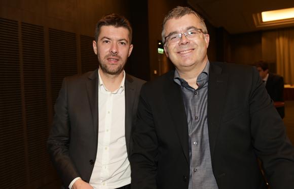4. Yann Féminier (Medef Lyon-Rhône) et Jean-Michel Rallet (MBO Partenaires)