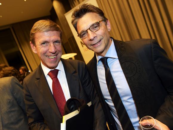 43. Jacques de Chilly (Aderly/Invest in Lyon) et Olivier Bernardeau (OL)
