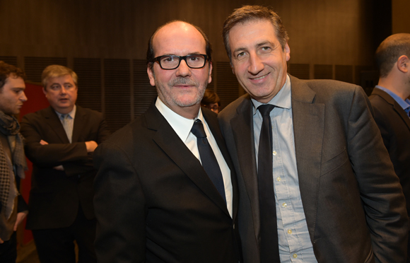 44. Gérard Auboeuf (Only Lyon) et Patrick Iliou (OL)