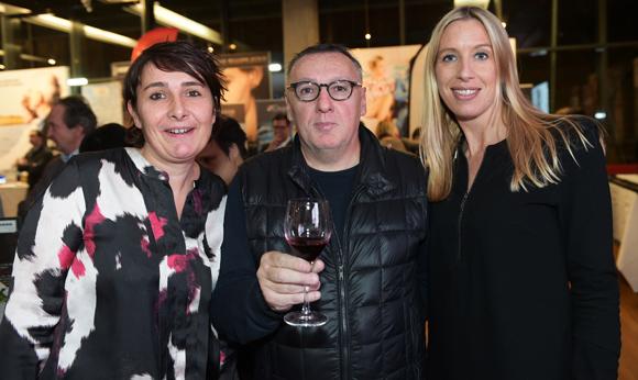 44. Christelle Cimetière (EMC), Marc Jean (Le Progrès) et Aline  Germain (DS Automobile)