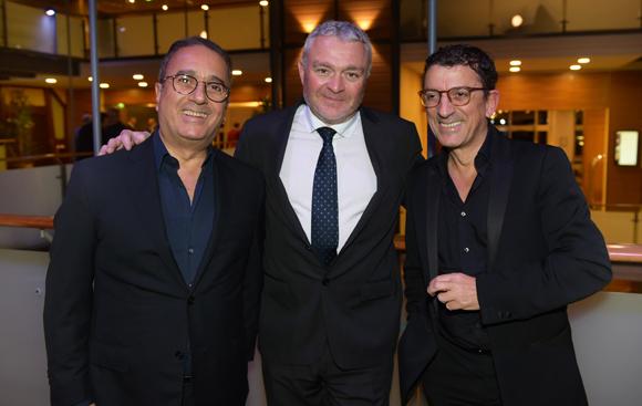 46. Georges Abbou (Aviva Cuisines), Jean-Louis Joly, DG du Medef Lyon-Rhône et Bernard Abbou (Aviva Cuisines)