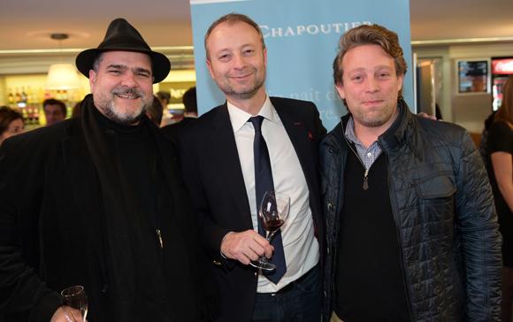 46. Arnaud Languille (Clostan), Marco (Lyon People) et le photographe Frédéric Durantet