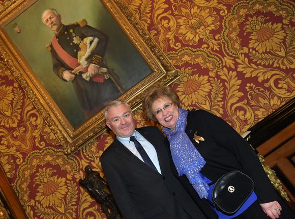5. Jean-Louis Joly, DG du Medef Lyon-Rhône et Evelyne Haguenauer