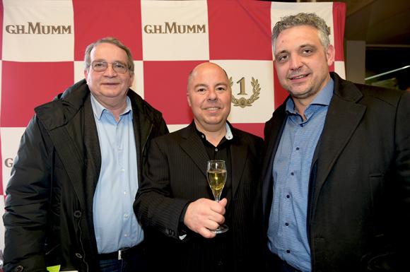 60. Gilbert Reboul (Golf Club de Lyon), Jean Burdy (Champagne Mumm) et Frédéric Cote (Au Colombier)