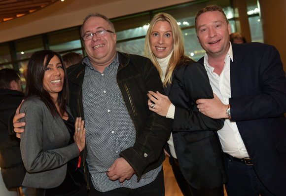 63. Lydia Rolland  (Chez Paul'O), Laurent Duc (UMIH), Aline Germain (DS Automobile) et Benoît Toussaint (Chez Paul'O)