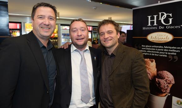 6. Thierry Honoré (HDG Histoire de Glaces), Benoît Toussaint (Paul'O) et Jean-Charles Tétart (HDG Histoire de Glaces)