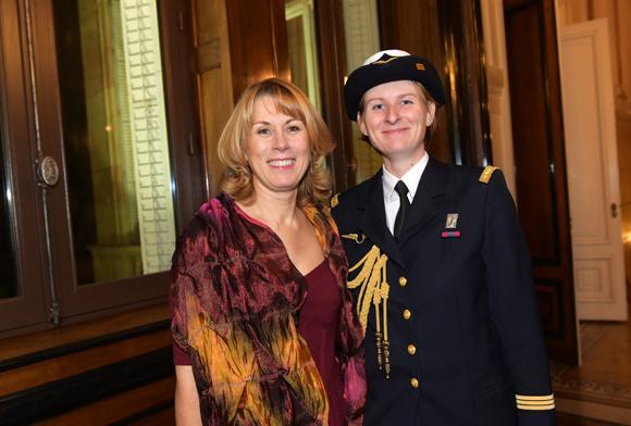 8. Cécile Borel et le capitaine Marie