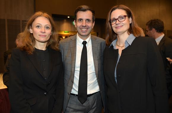 9. Nadège Delmas, Laurent Novel et Valérie Sarrazin (Banque Populaire)
