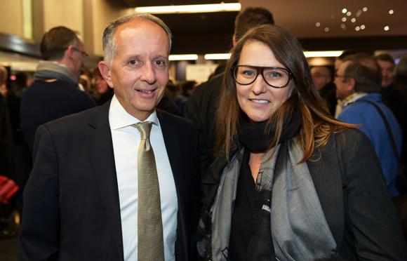 9. Eric Vernusse (Banque Rhône-Alpes) et Cécile Verget (Les Alchimistes and Co)