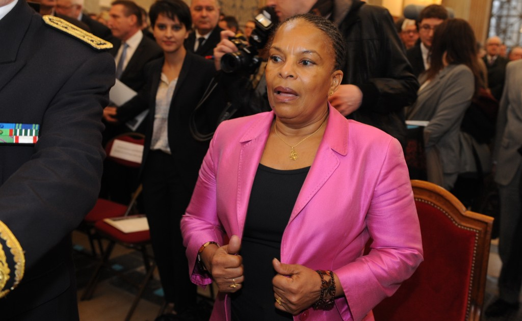 Christiane Taubira. Départ en fanfare